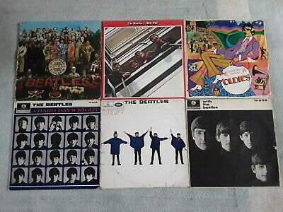 With The Beatles, 1962 - 1966, Help! Oldies, Sgt Pepper, Hard Days Night. Joblot