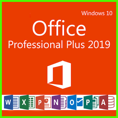 MICROSOFT OFFICE 2019 PRO PLUS 32/64bit NEW License Key Instant Delivery