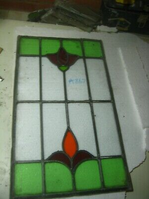 A872    Stained Glass Ca 1890s
