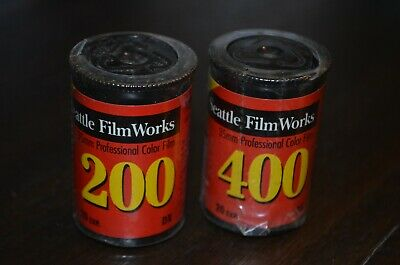 NEW Seattle Film Works 200 400 20 exposure rolls