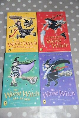 Collection of 4 'The Worst Witch' books by Jill Murphy
