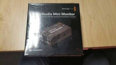 Blackmagic Design UltraStudio Mini Monitor Playback Device BMD-BDLKULSDZMINMON
