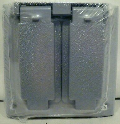 sigma outlet box cover gray