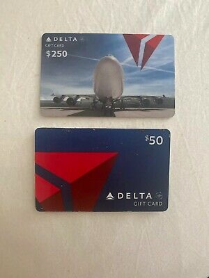 $250 + $50 Delta Airlines Gift Card