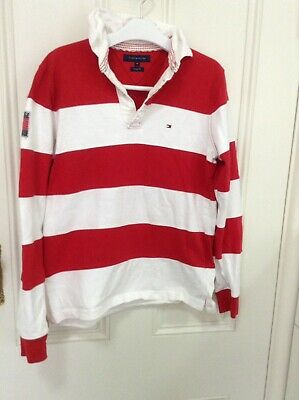 Tommy Hilfiger Rugby Jumper Sz M