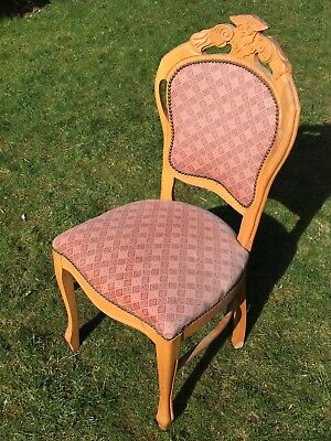 French ? Louis Style Vintage ? Shabby Chic Dressing Table Dining Chair Up cycle