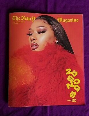 New York Times Magazine 15 March 2020 - The Music Issue 25 Songs Megan Cover !!!