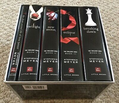 The Twilight Saga Complete Collection by Stephenie Meyer Box Set First Editions