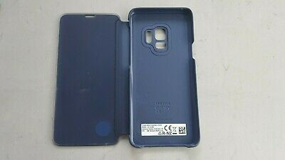 Samsung Clear View Cover for Samsung Galaxy S9 - Blue Good Conditions