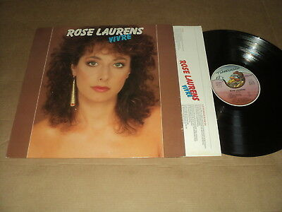 "Rose Laurens 33 Tours Lp 12"" France Vivre"