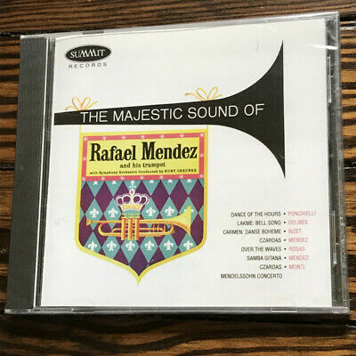 Majestic Sounds of Rafael Mendez (NEW) (DCD 208) - Rafael Mendez - Audio CD