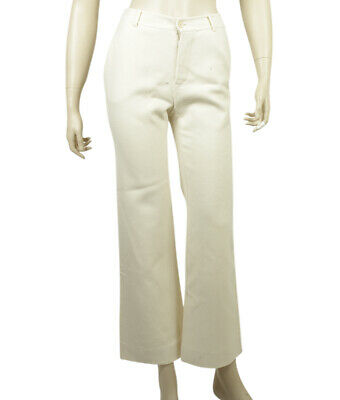 Gucci Ivory Casual Pants, Size 38