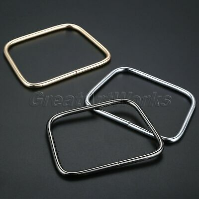 Alloy Square Hand Bag Handle for Purse Leather Craft DIY Repairment Replacement