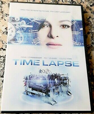 TIME LAPSE RARE DVD SciFi Thriller Time Travel Danielle Panabaker George Finn