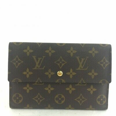Louis Vuitton n030431 Pochette Passport Long Trifold Wallet M60135