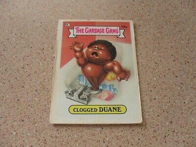 The Garbage Gang series 2 (AUS series) 59A CLOGGED DUANE