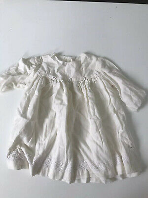 Cotton Dress Embroidery Trim Baby Girl Size 1