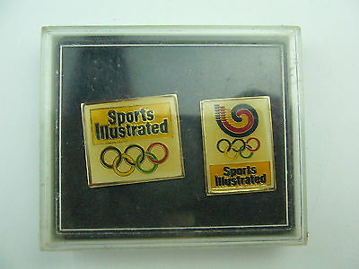 1988 Seoul Olympic Games Pin Set > Sports Illustrated - Vintage Back