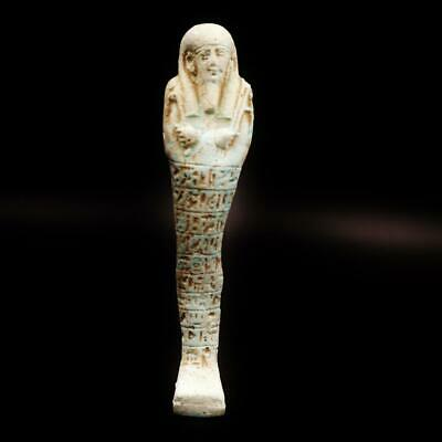 Fine Antique Egyptian Stone Ushabti (Shabti) Statue Figure
