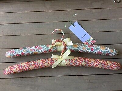 New Pair of Liberty of London Coat Hangers for Mothers Day
