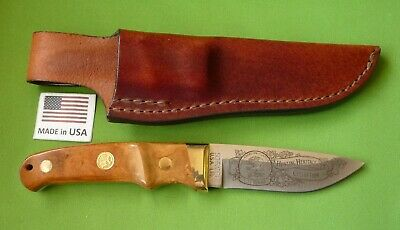 "Schrade USA NAHC Pro Hunter(PH1) Skinning Knife ""Hunting Heritage Collection""."