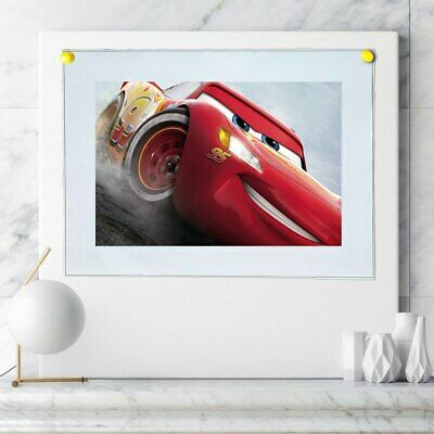"""8""""x14""""Lightning McQueen Posters HD Canvas Prints Home Room Decor Wall picture"""