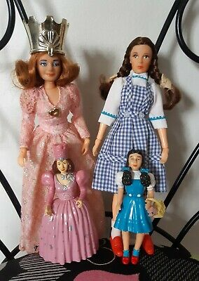 Vintage Mego Wizard of Oz Movie Dolls Dorothy Glenda Glinda Good Witch & Figures