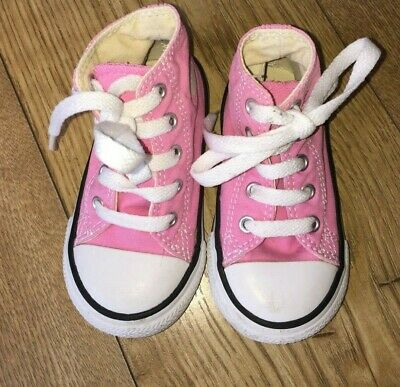 Girls Converse All Star Baseball Boots Toddlers Approx Age Girls Age 2 Years +