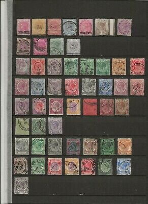 Stamps  - British Commonwealth - Straits Settlements - (6082)