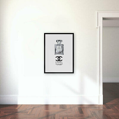 Coco Chanel Fashion Art Print Picture Wall Home Decor Gift A4