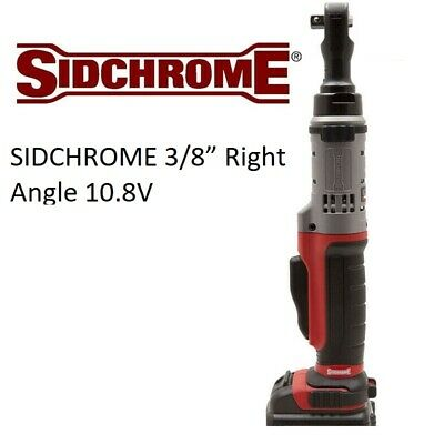 "SIDCHROME 3/8"" Right Angle 10.8V Cordless Electric Ratchet Wrench (Skin Only)"