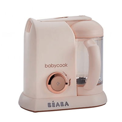 Beaba Babycook Solo 4-in-1 Baby Food Maker – Rose Gold
