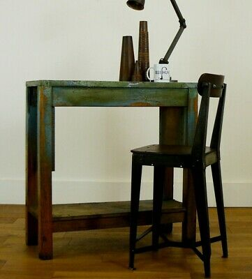 Early 20th Century Vintage Work Table Bench from Albion St Works Birmingham