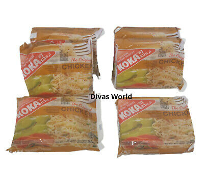 KOKA Oriental Instant Noodles Chicken Flavour Pack Of 6 x 85g Brand New