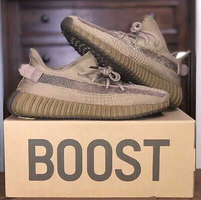 Adidas Yeezy Boost 350 V2 Earth Mens Size 10 (FX9033)- North America Exclusive