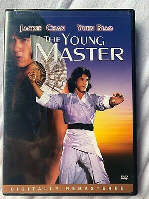 The Young Master Jackie Chan DVD Uncut Version Remastered Rare Import