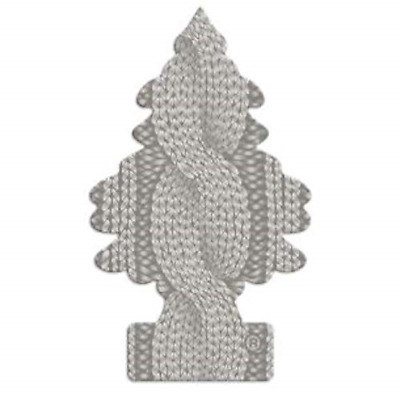 Car Freshner Grey Air Fresheners Little Trees In The Cable Knit Scent 6 Pack New