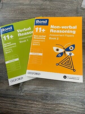 Bond 11 Plus Verbal And Non-verbal Reasing Age 9-10 Assessment Papers Books