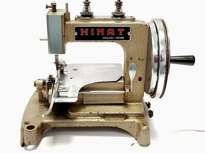 Antigua Maquina de coser HIMAT PR-7  ANTIQUE INDUSTRIAL  SEWING MACHINE