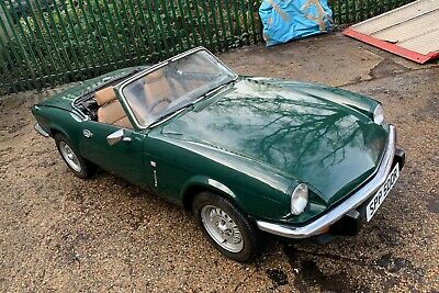 Triumph Spitfire 1500 1977 new engine gorgeous condition swap swop px