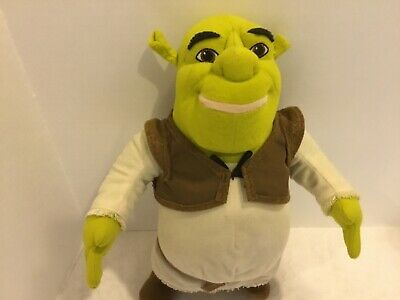 Talking ogre Shrek Plush toy 14""