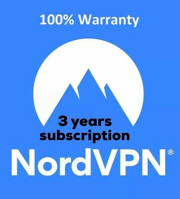 NordVPN ACCOUNT PREMIUM 3 YEARS | INSTANT DELIVERY🚚 | WITH WARRANTY✅
