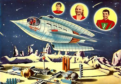 Space Patrol - 100 Old Time Radio Shows - *Mp3 DOWNLOAD*