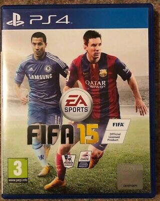 FIFA 15 (PS4) game. Excellent Condition