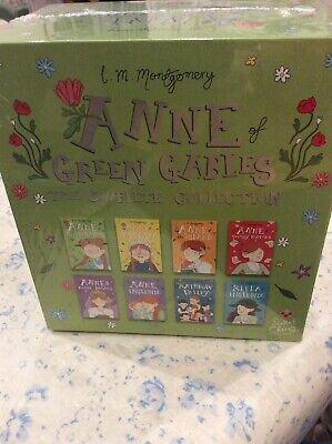 Anne of Green Gables: The Complete Collection Box Set (Ann... Paperback Book NEW