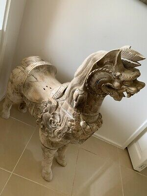 Antique Orientale hand crafted Timber Dragon