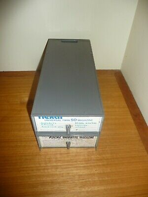 2 Flexar Universal Twin 50 Slide Trays in Boxes