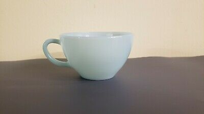 Fire King Anchor Hocking Turquoise Delphite Blue Tea Cup