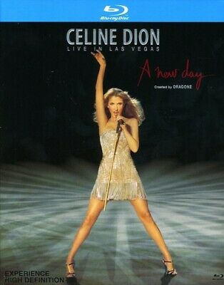 Celine Dion: Live in Las Vegas - A New Day (Blu-ray Used Very Good) BLU-RAY/WS