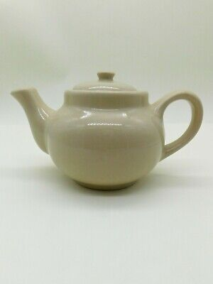 Wallace China Farmer Brothers Restaurant Ware Individual Tea Pot coffee